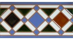 Faïence arabe relief MZ-009-00