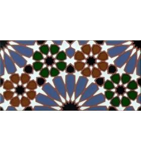 Faïence arabe relief MZ-011-00