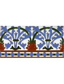 Azulejo Sevillano relieve MZ-042-00