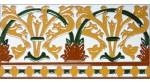 Sevillian relief tile MZ-042-01