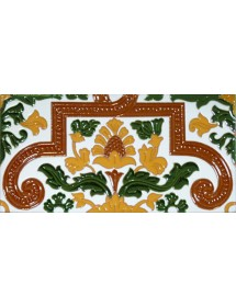 Sevillian relief tile MZ-053-01A