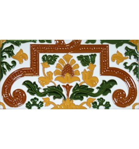 Sevillian relief tile MZ-053-01A