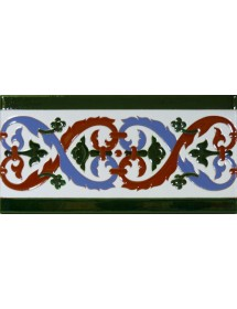 Sevillian relief tile MZ-026-00