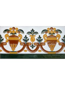 Sevillian relief tile MZ-027-01