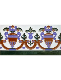 Sevillian relief tile MZ-027-00