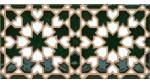 Azulejo Árabe relieve MZ-007-21
