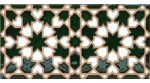 Faïence arabe relief MZ-007-21