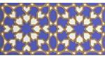 Faïence arabe relief MZ-007-41