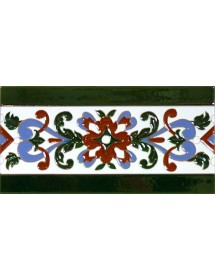 Sevillian relief tile MZ-033-00