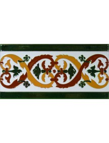 Sevillian relief tile MZ-026-01