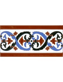 Sevillian relief tile MZ-026-02