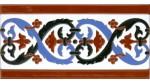 Sevillian relief tile MZ-026-02