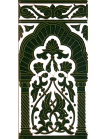 Sevillian relief tile MZ-030-21