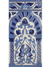 Azulejo Sevillano relieve MZ-030-441