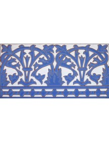 Azulejo Sevillano relieve MZ-042-41