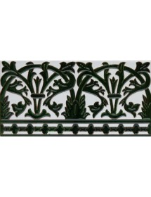 Sevillian relief tile MZ-042-21
