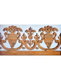 Sevillian relief copper tile MZ-027-91