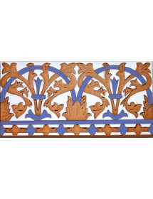 Azulejo Sevillano relieve MZ-042-941