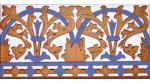 Azulejo Sevillano relieve MZ-042-941