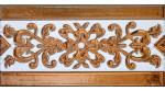 Sevillian relief copper tile MZ-033-91
