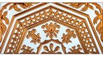 Sevillian relief copper tile MZ-051-91