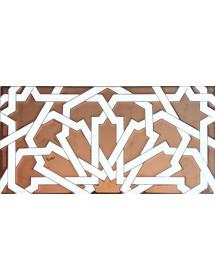 Faïence arabe relief MZ-040-91