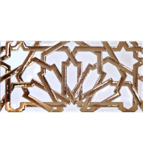 Arabian relief copper tiles MZ-040-19