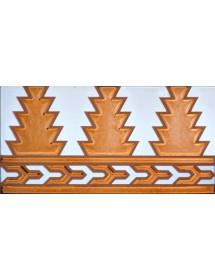 Arabian relief copper tiles MZ-005-91