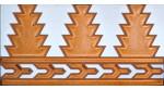 Faïence arabe relief MZ-005-91