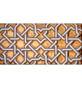 Arabian relief copper tiles MZ-006-91