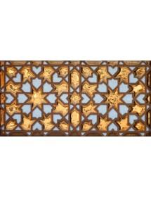 Arabian relief copper tiles MZ-007-91