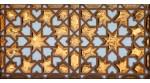 Faïence arabe relief MZ-007-91