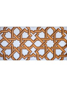 Arabian relief copper tiles MZ-006-19