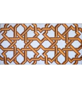 Azulejo Árabe relieve MZ-006-19