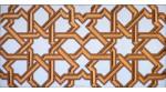 Faïence arabe relief MZ-006-19