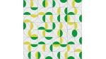 Mosaïque CEREZAS vert/jaune