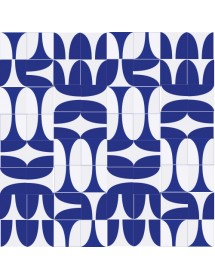 Komposition COPA blau