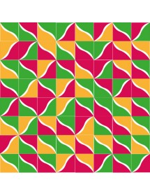 Komposition RIO2 mehrfarbig