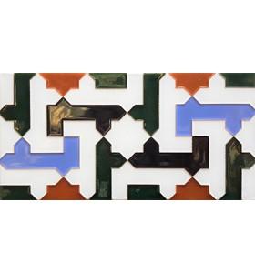 Azulejo Árabe relieve MZ-041-00