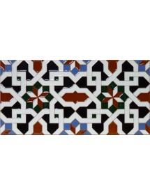 Azulejo Árabe relieve MZ-067-00