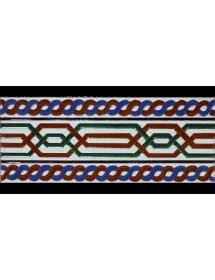 Faïence arabe relief MZ-069-00