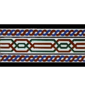 Azulejo Árabe relieve MZ-069-00