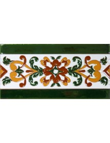 Azulejo Sevillano relieve MZ-033-01