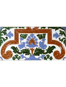 Sevillian relief tile MZ-053-00A