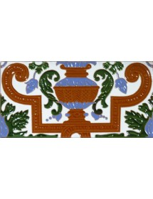 Sevillian relief tile MZ-053-00B