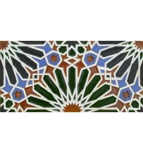 Azulejo Árabe relieve MZ-012-00