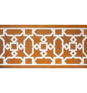Faïence arabe relief MZ-015-91