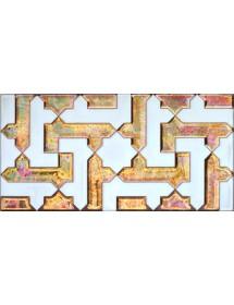 Azulejo Árabe relieve MZ-041-91
