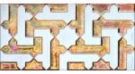 Faïence arabe relief MZ-041-91