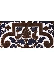 Sevillian relief copper tile MZ-053-941A